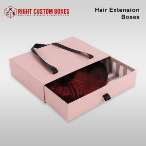 wholesale hair ectension box
