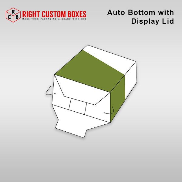 Auto Bottom With Display Lid