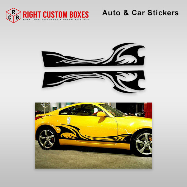 Auto and Car Stickers