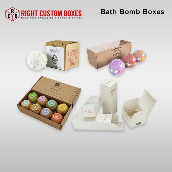 custom printed bath bomb packaging