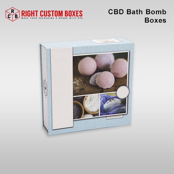 CBD Bath Bomb Boxes