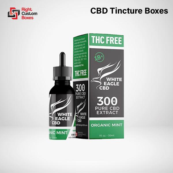 Custom CBD Tincture Boxes